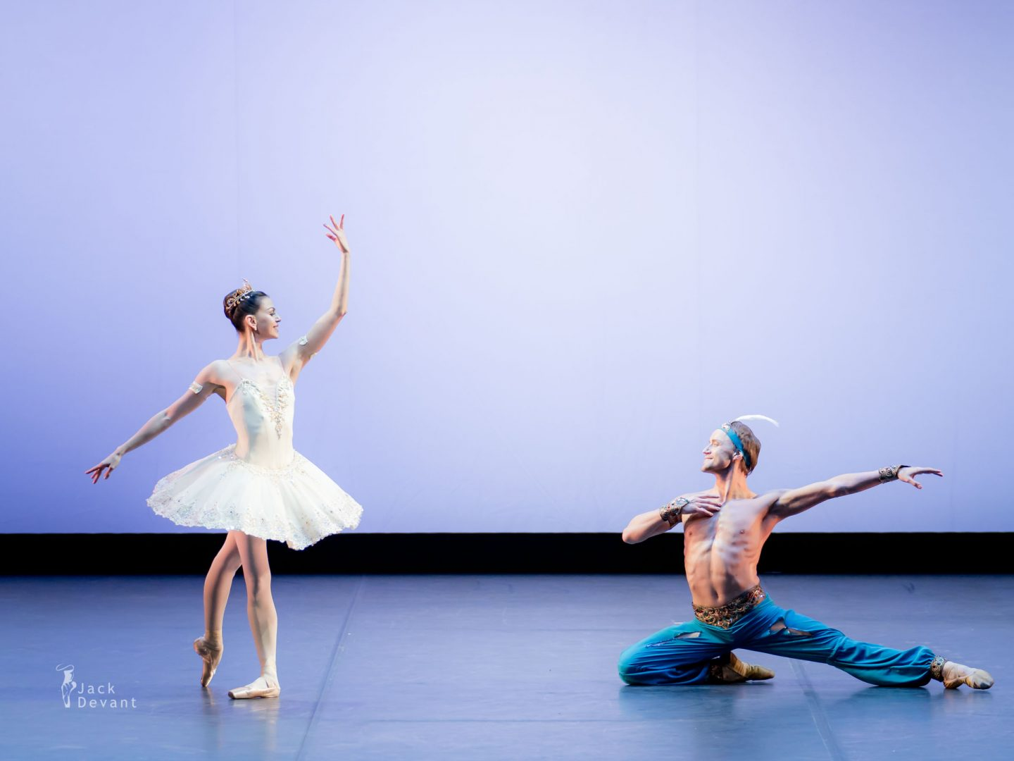 Anastasia Matvienko and Denis Matvienko in Le Corsaire 2