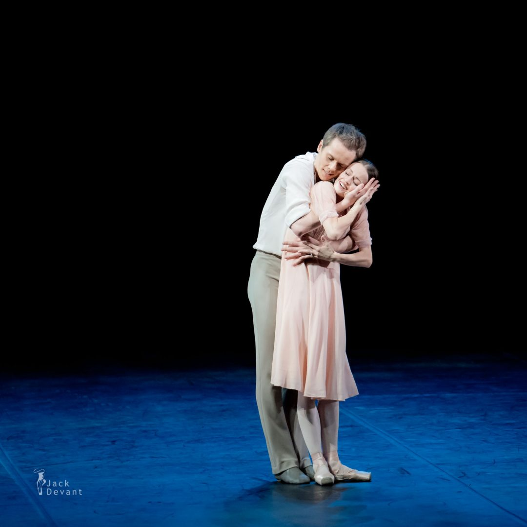 Anna Kuligina and Leonid Sarafanov in the duet from The Bronze Idol