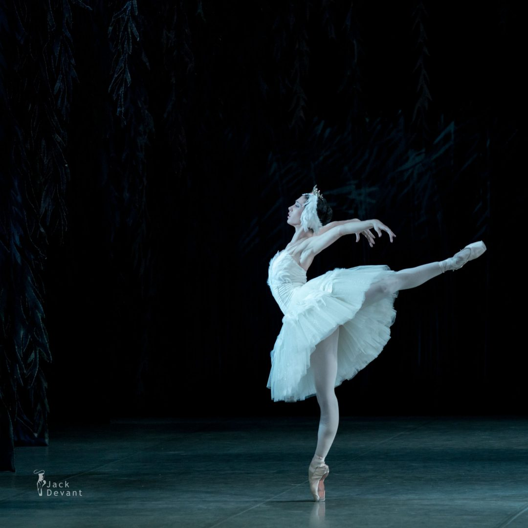 Polina Buldakova (Полина Булдакова) as Odette in Swan Lake