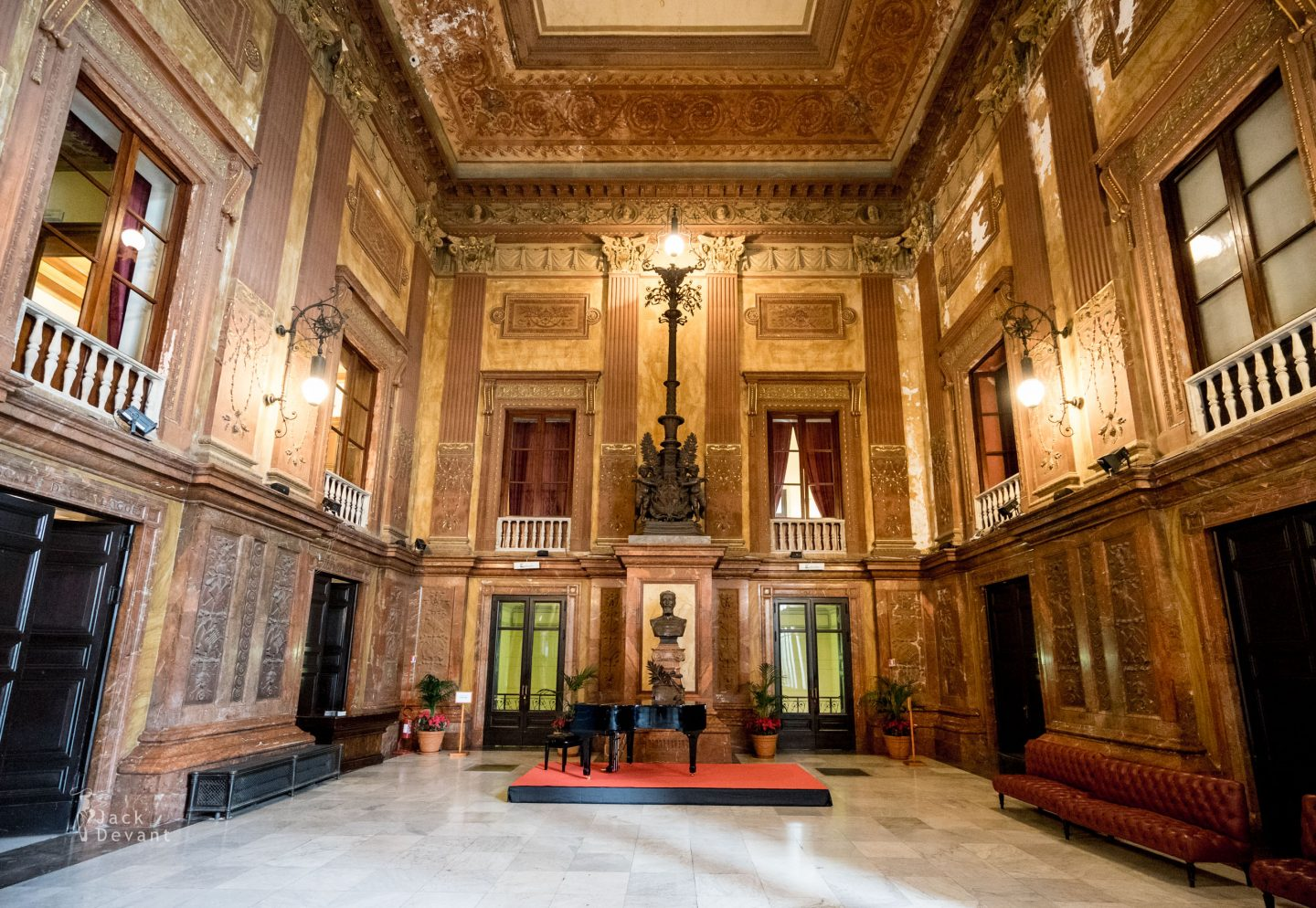 Teatro Massimo Palermo first floor entrance hall