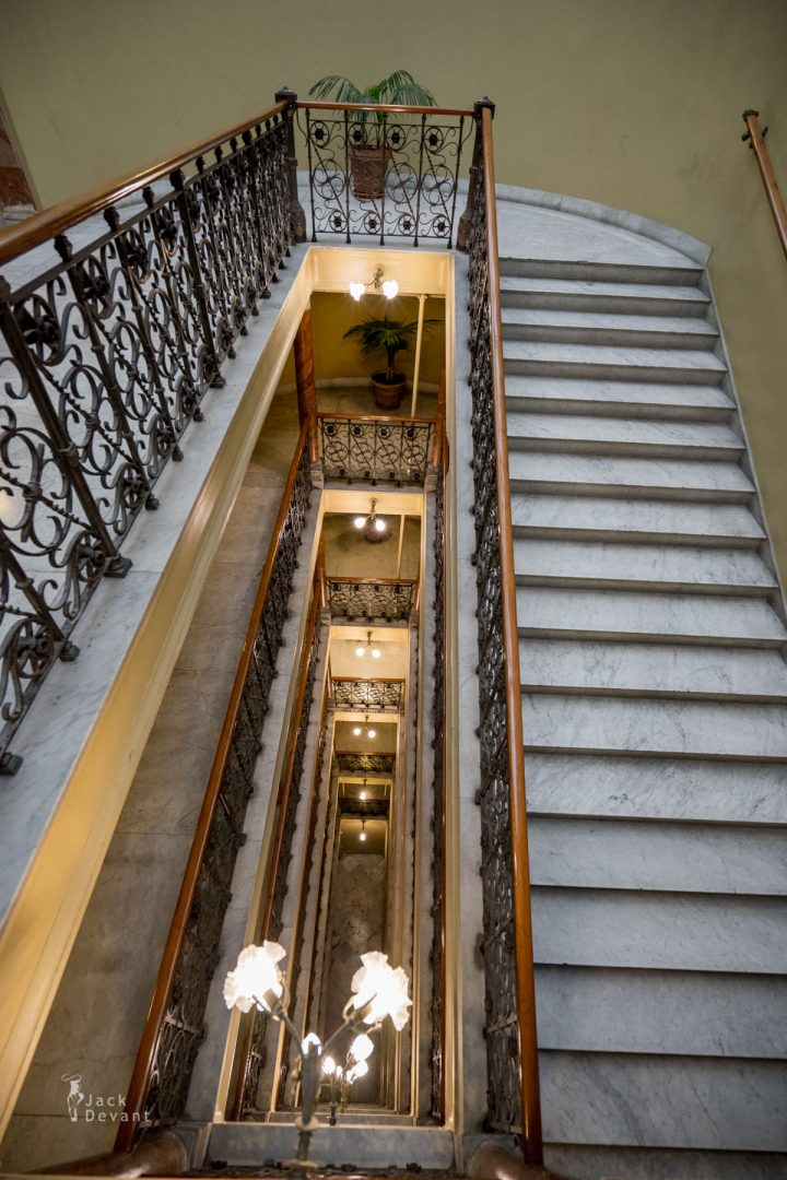 Teatro Massimo Palermo stairs to upper floors