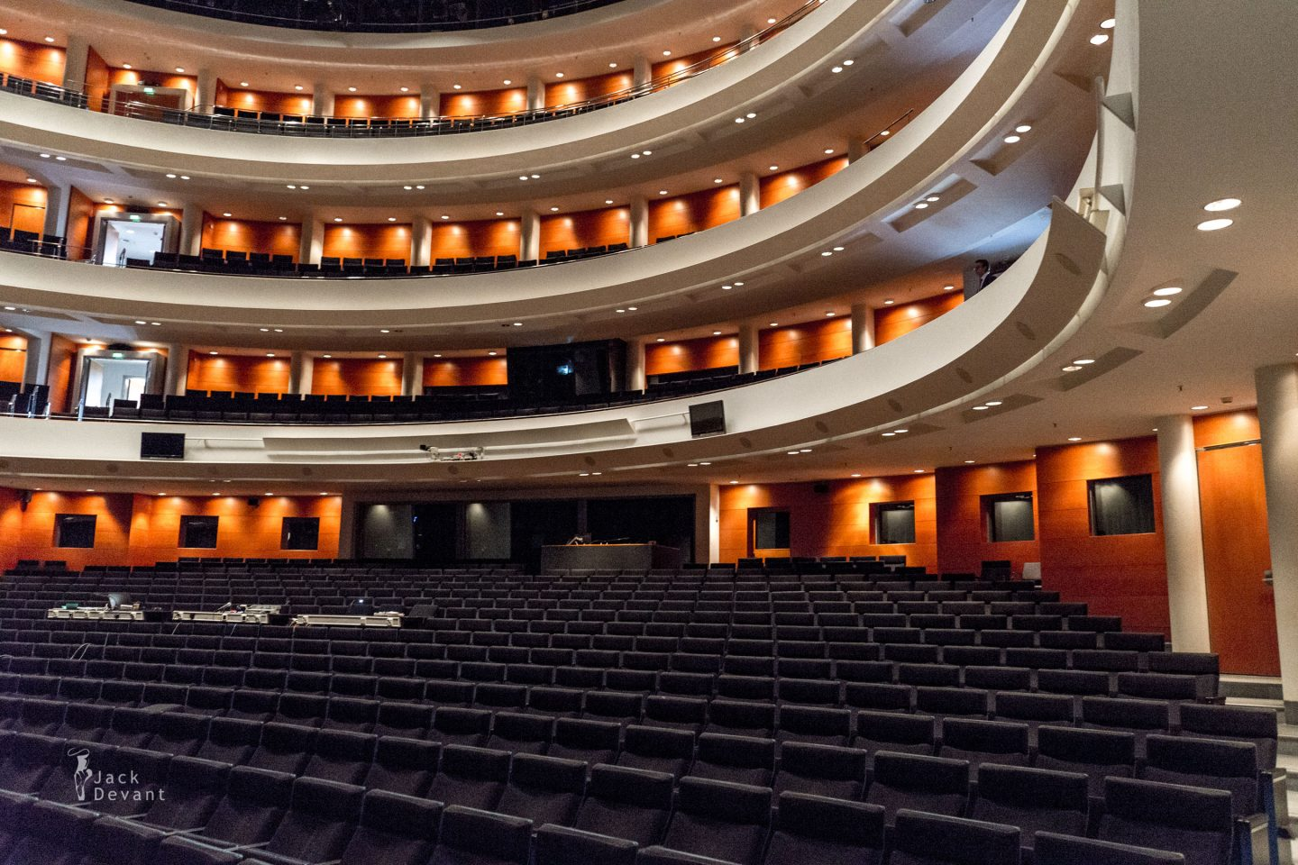 The Finnish National Opera auditorium