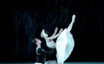 Polina Buldakova and Oleg Kulikov in Swan Lake act I adagio