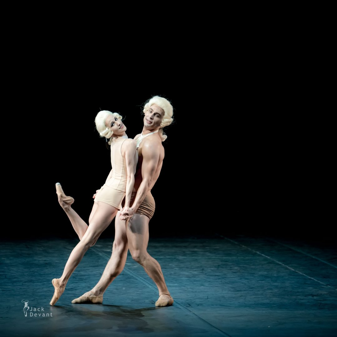 Sabina Yapparova and Ivan Vasiliev in Amadeus