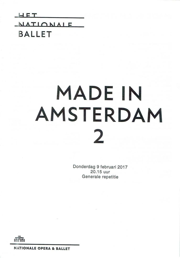 Made in Amsterdam 2 program