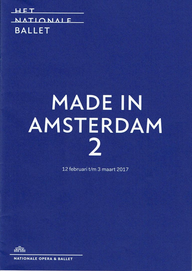 Made in Amsterdam 2 program thick