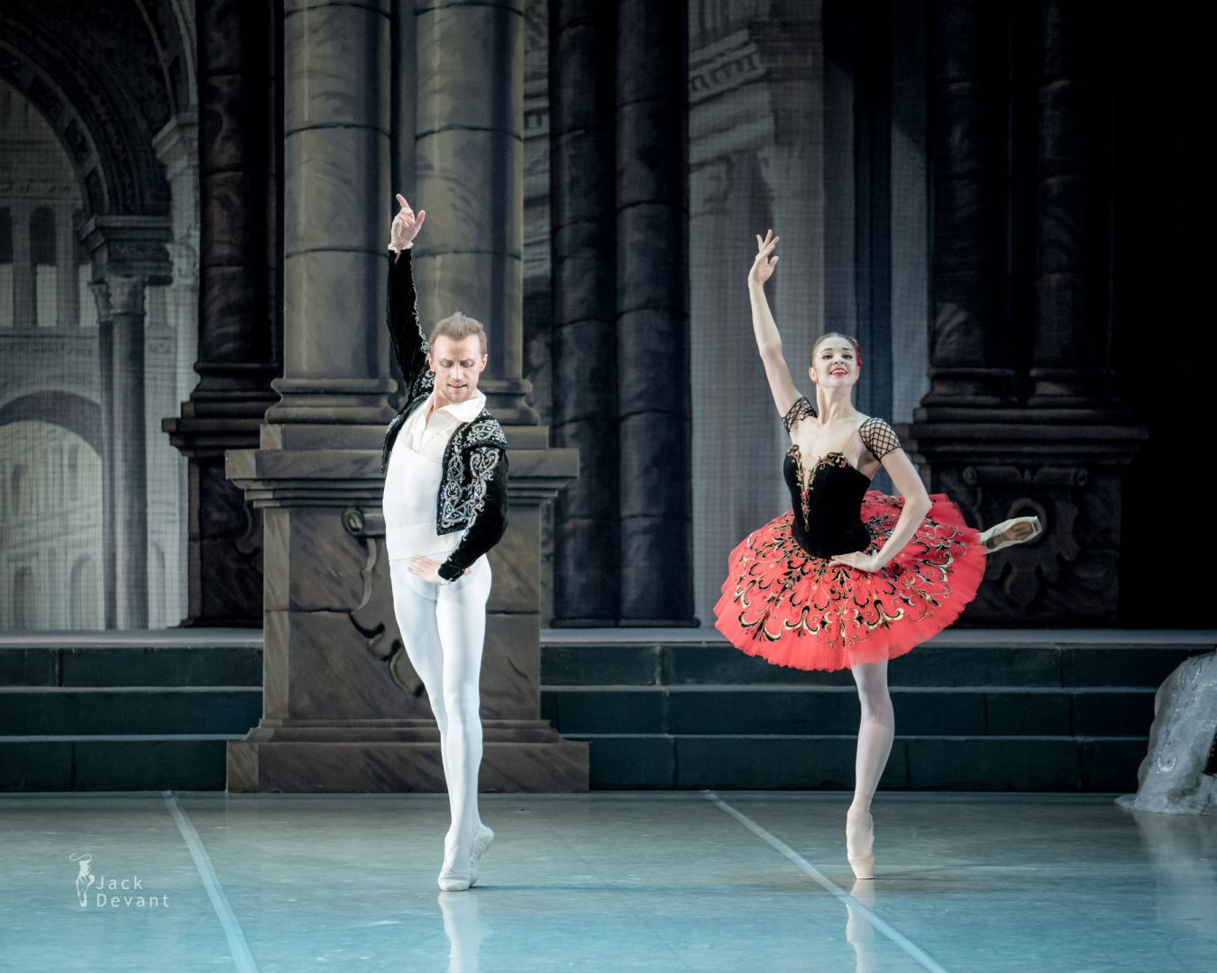 Angelina Vorontsova and Denis Matvienko in Don Quixote