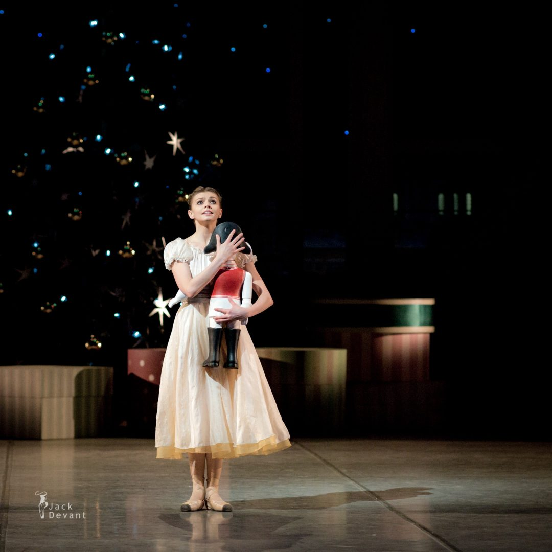 Oxana Bondareva (Dnipro) As Masha in The Nutcracker, music by Pyotr Ilyich Tchaikovsky, choreography by Nacho Duato.