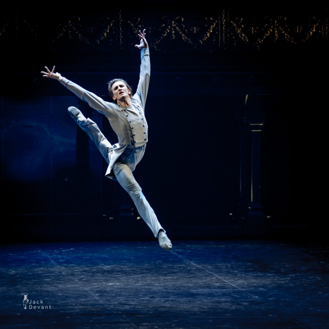 Sergey Volobuev (Kovel) as Vronsky in Anna Karenina, choreography by Boris Eifman.