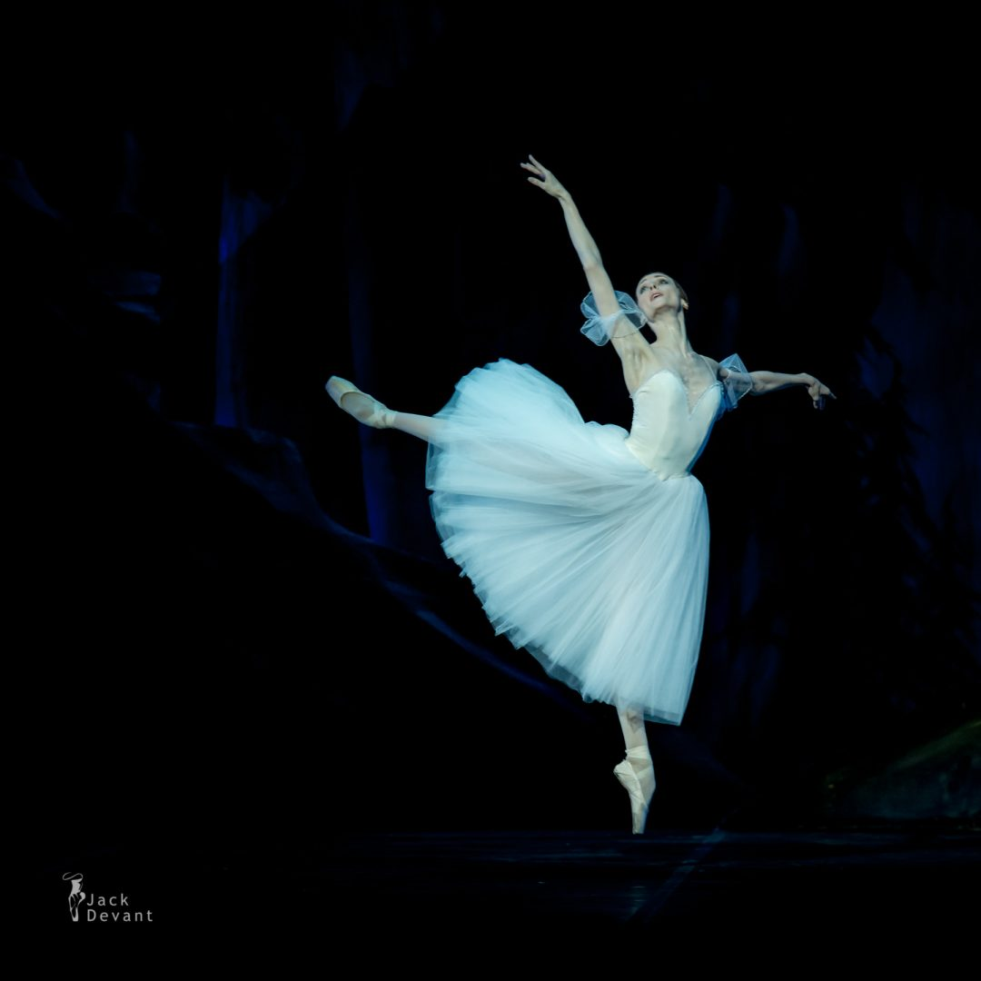 Svetlana Zakharova (Lutsk) Giselle, music by Adolphe Adam, choreography by Jean Coralli, Jules Perrot, Marius Petipa, new version by Ludmila Semenyaka. Shot in Naples.