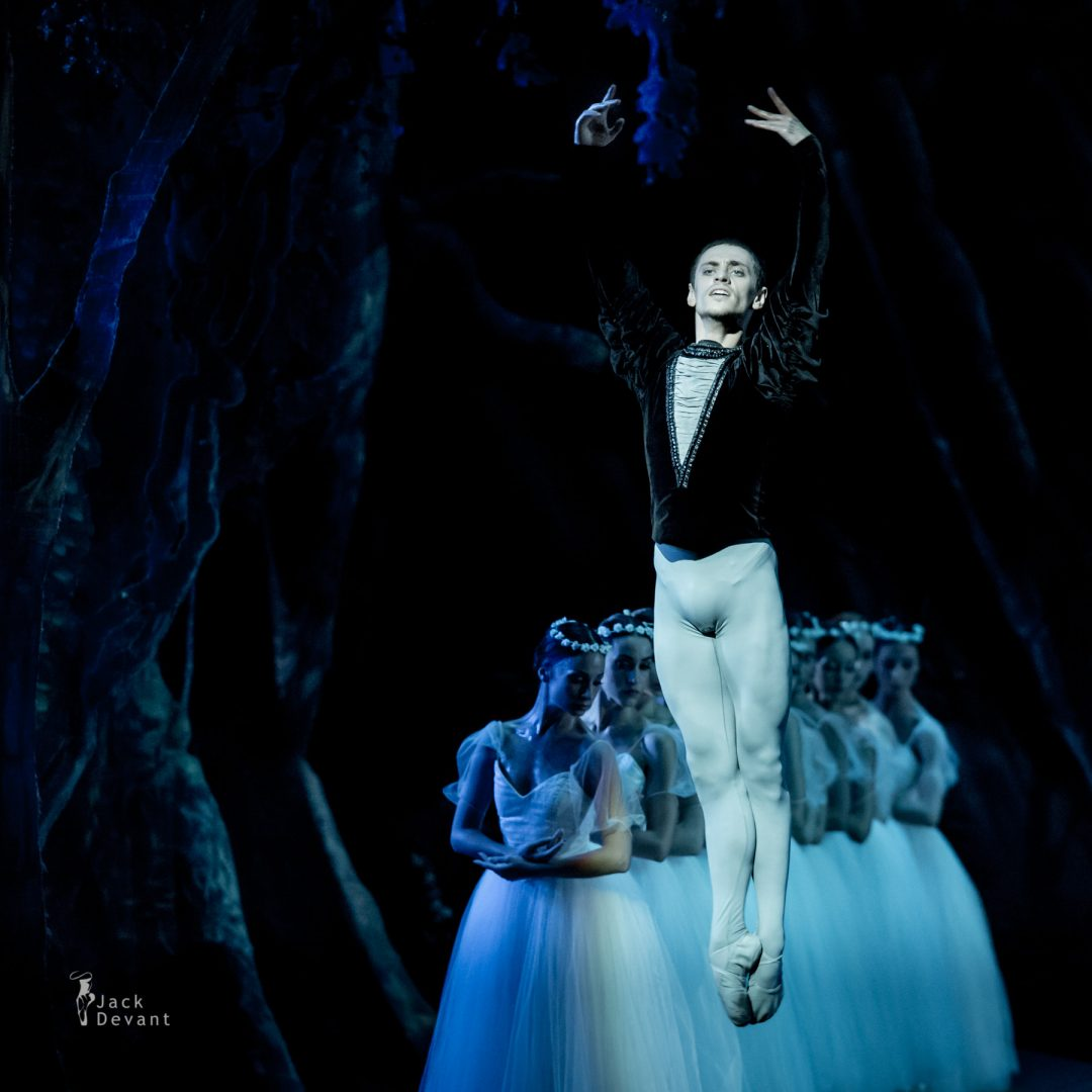 Sergei Polunin (Kherson) Giselle, music by Adolphe Adam, choreography by Jean Coralli, Jules Perrot, Marius Petipa, new version by Ludmila Semenyaka. Shot in Naples.