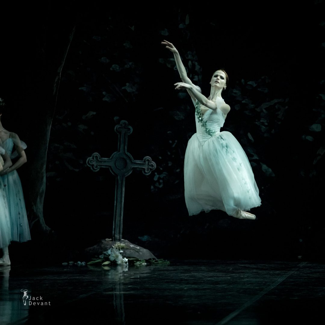 Alena Shkatula and Denis Klimuk in Giselle second act