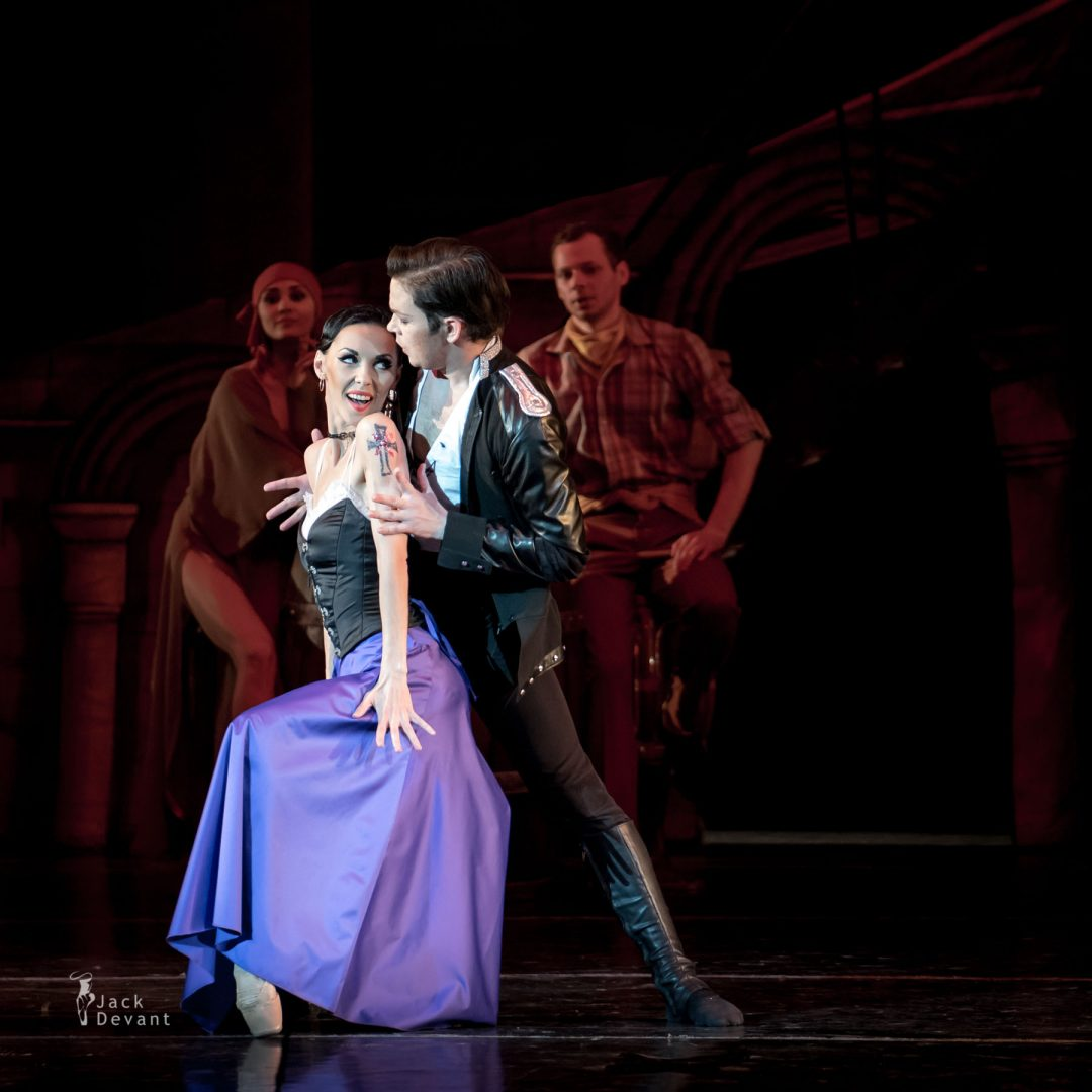 Yekaterina Shmigelskaya and Aleksei Tchorich in Carmen and Jose