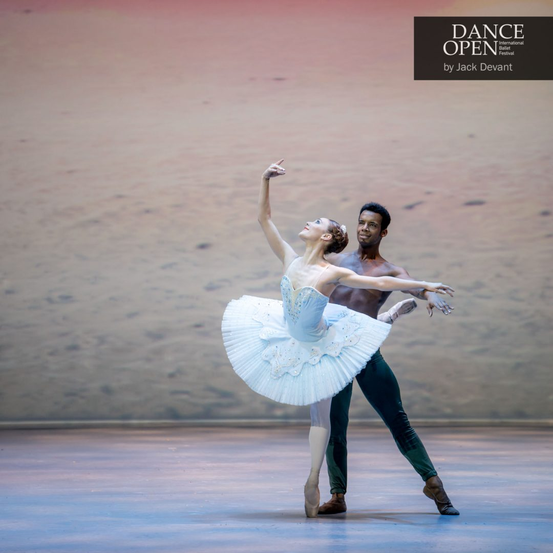 Yolanda Correa and Osiel Gouneo in Le Corsaire