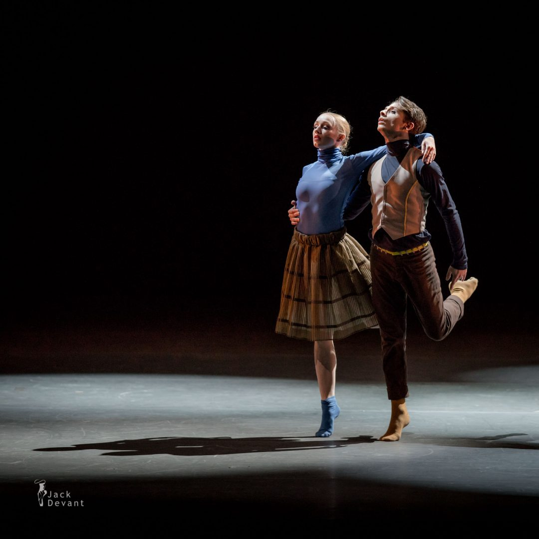 Ida Kallanvaara and Giacomo Altovino (Dortmund Ballet) in Hora