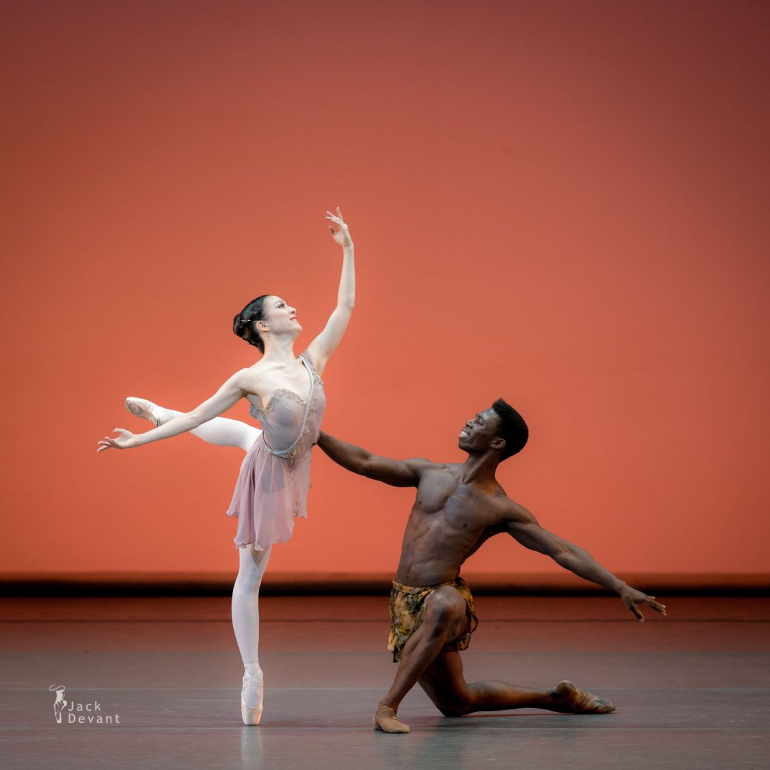 Benois de la Danse 2017 – Ayano Kimura and Brooklyn Mack (The Washington Ballet) in Diana and Actaeon