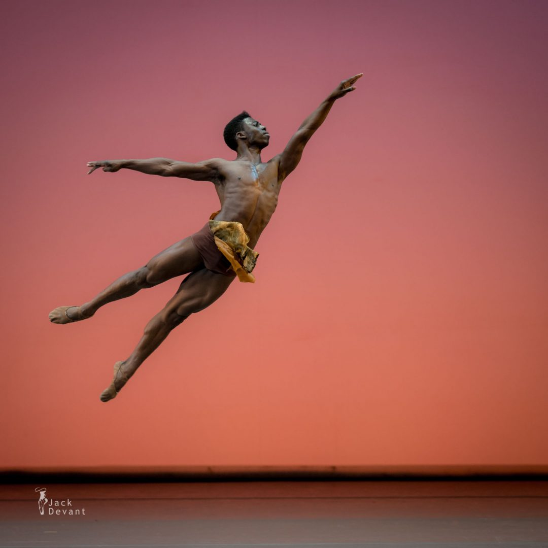 Brooklyn Mack (The Washington Ballet) in Diana and Actaeon