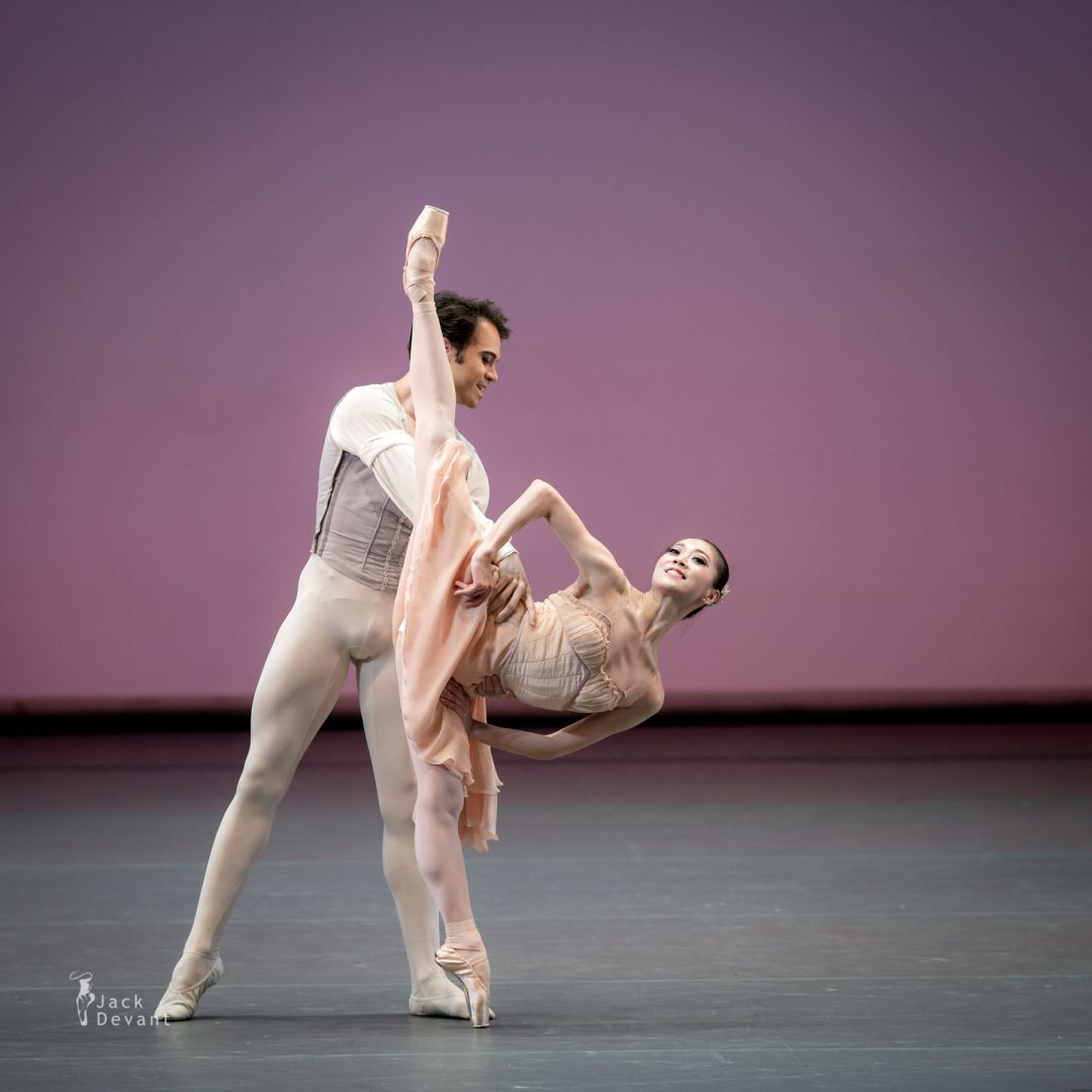 Benois de la Danse 2017 – Misa Kuranaga and Paolo Arrais (Boston Ballet) in Tchaikovsky pas de Deux