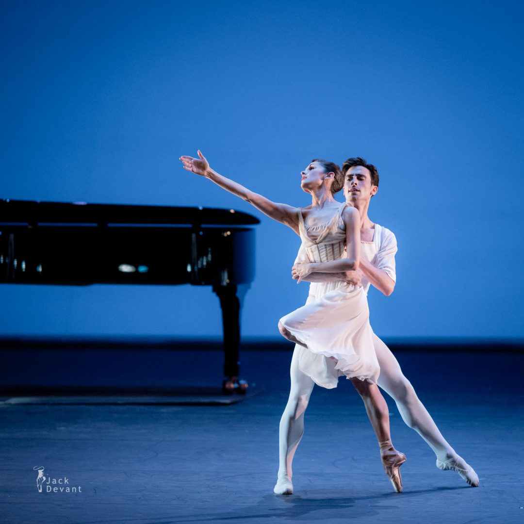 Benois de la Danse 2017 – Lauren Strongin and Joseph Walsh (San-Francisco Ballet) in Seven Sonatas
