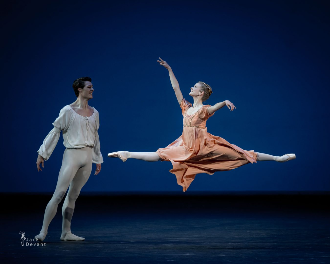 Léonore Baulac and Hugo Marchand (Paris Opera Ballet) in Romeo and Juliet
