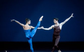 Dores Andre, Joseph Walsh, Lauren Strongin and Carlo Di Lanno in Variations for Two Couples