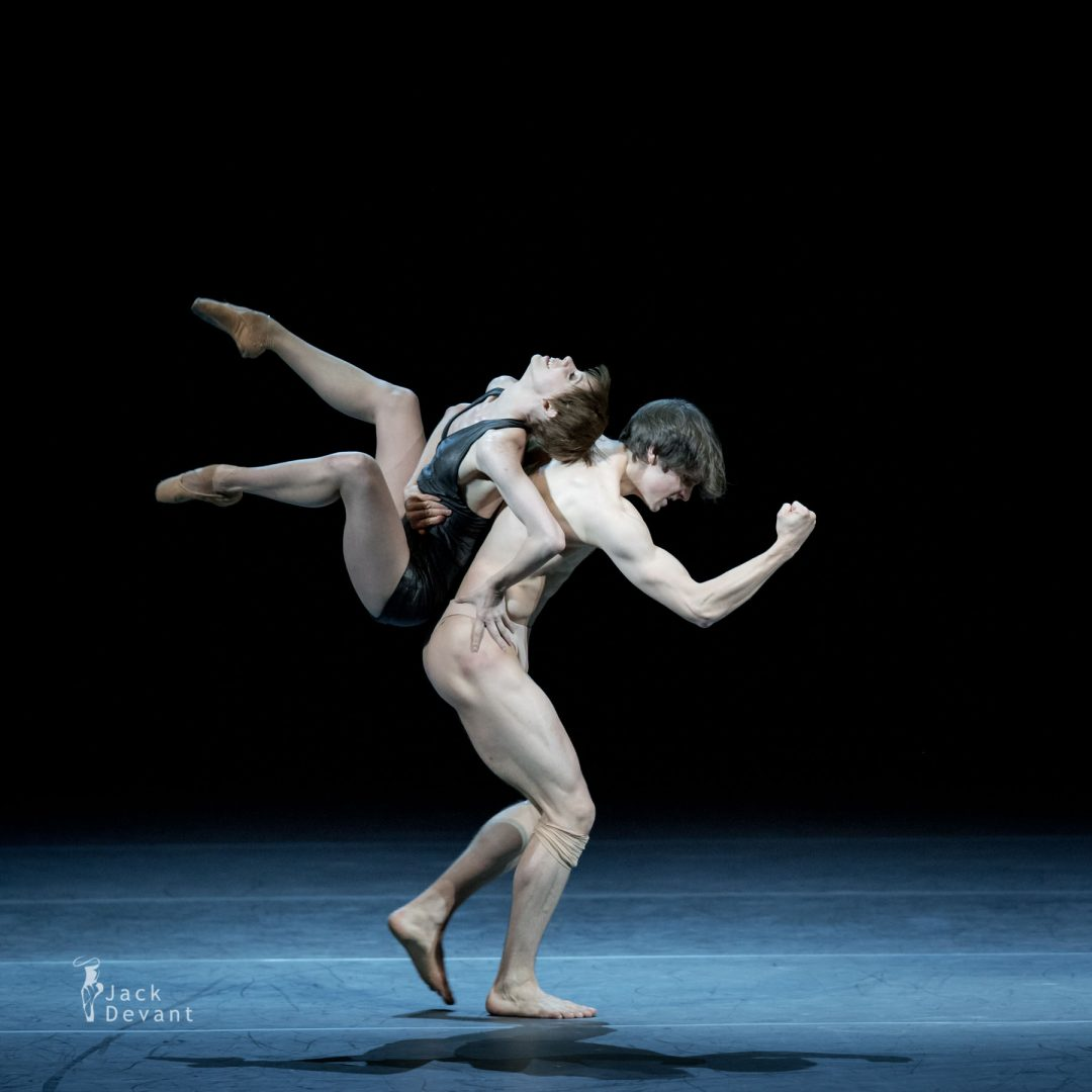 Elisa Badenes and David Moore in Salomé 8