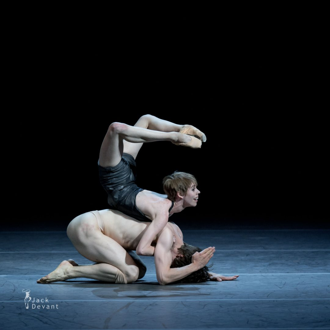 Elisa Badenes and David Moore in Salomé title