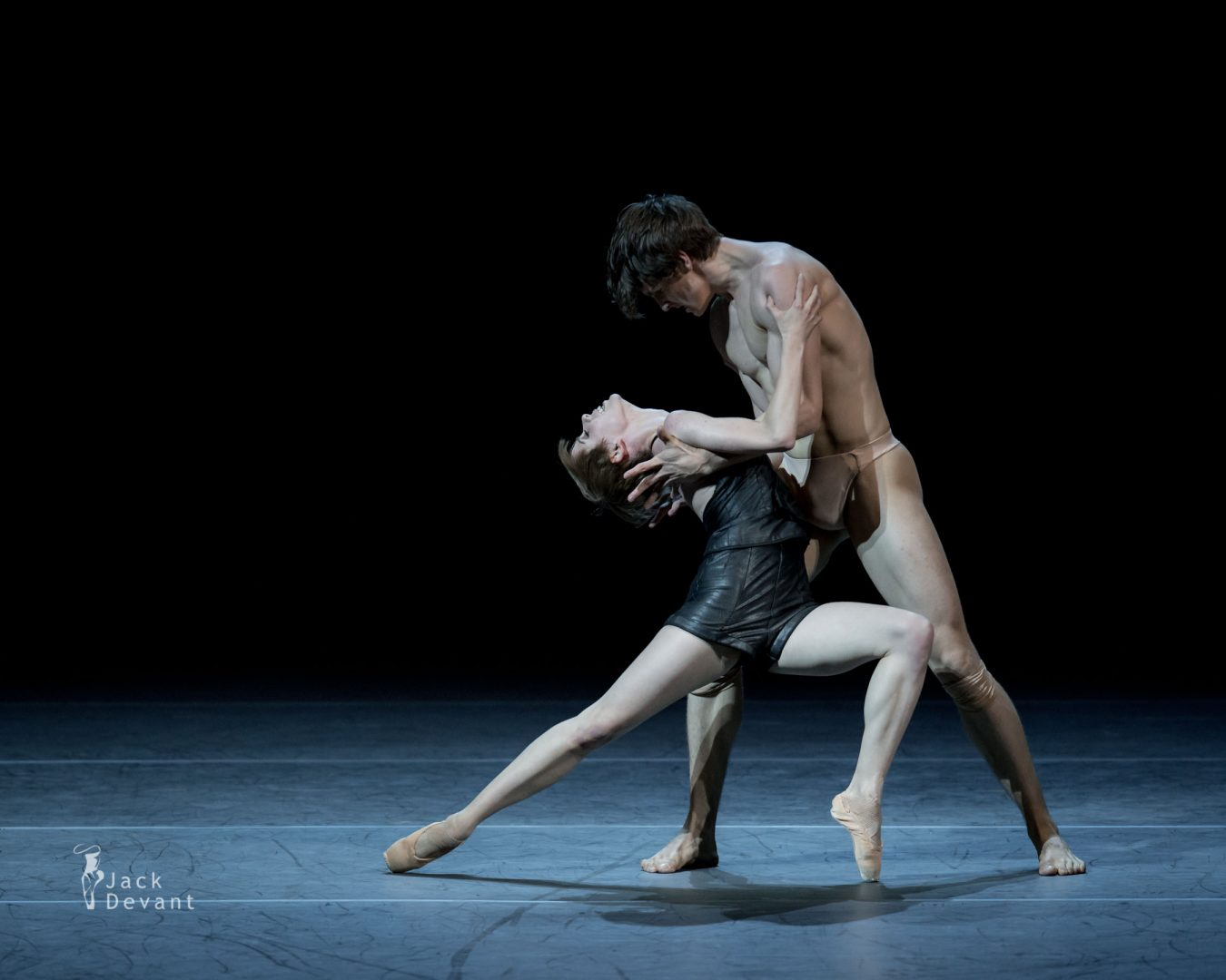 Elisa Badenes and David Moor in Salomé