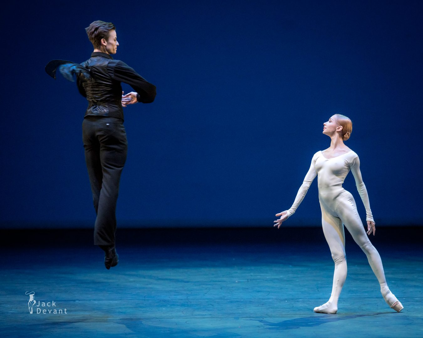 Benois de la Danse 2017, Iana Salenko and Marian Walter in The Bat, music by Johann Strauss, choreography by Roland Petit