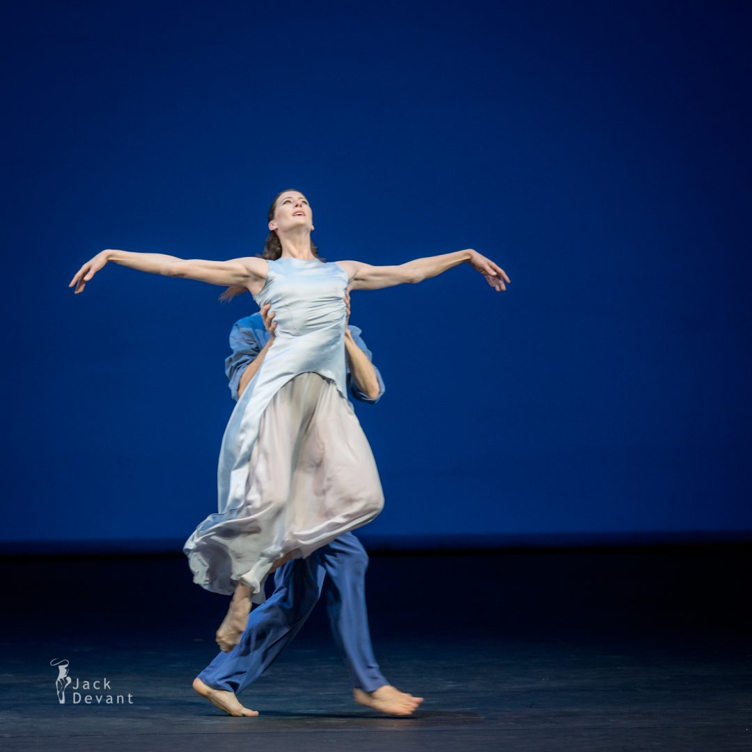 Benois de la Danse 2017, Marie-Agnes Gillot and Hugo Marchand (Paris Opera Ballet) in Signes, music by René Aubry, choreography by Caroline Carlson