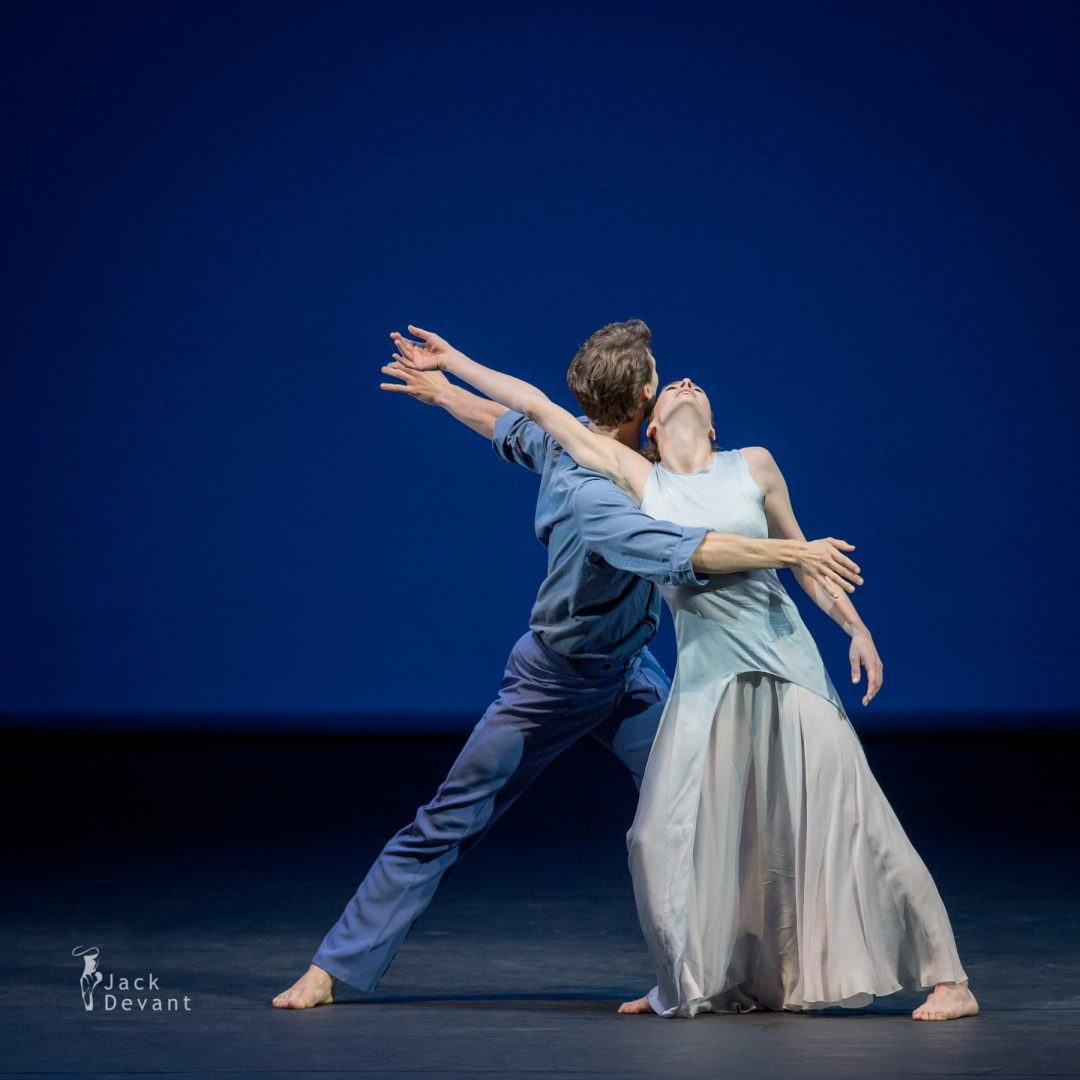 Marie-Agnes Gillot and Hugo Marchand (Paris Opera Ballet) in Signes, music by René Aubry, choreography by Caroline Carlson