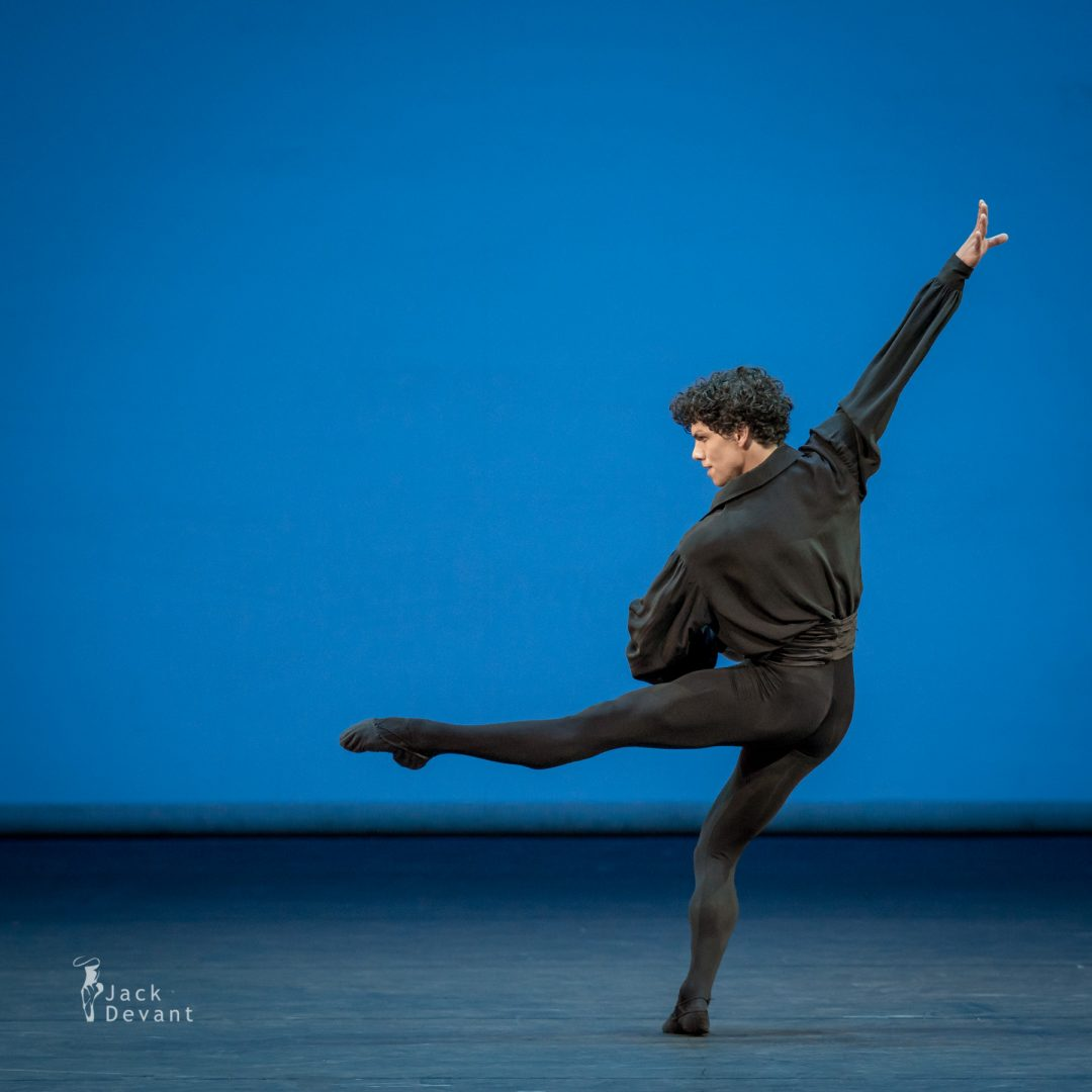 Isaac Hernandez (English National Ballet) in 5 Tangos, music by Astor Piazzolla, choreography by Hans van Manen