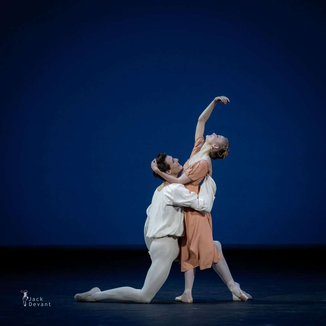 Léonore Baulac and Hugo Marchand in Romeo and Juliet