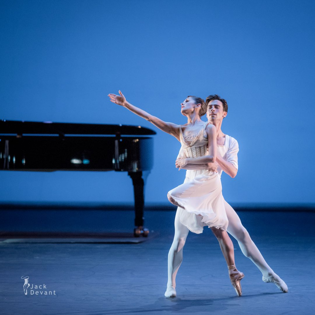 Lauren Strongin and Joseph Walsh in Seven Sonatas 2