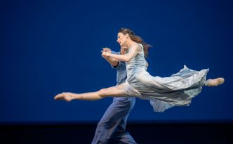 Marie-Agnes Gillot and Hugo Marchand in Signes