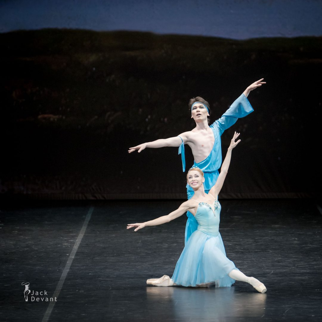 Iana Salenko and Yerkin Rakhmatullayev in The Talisman