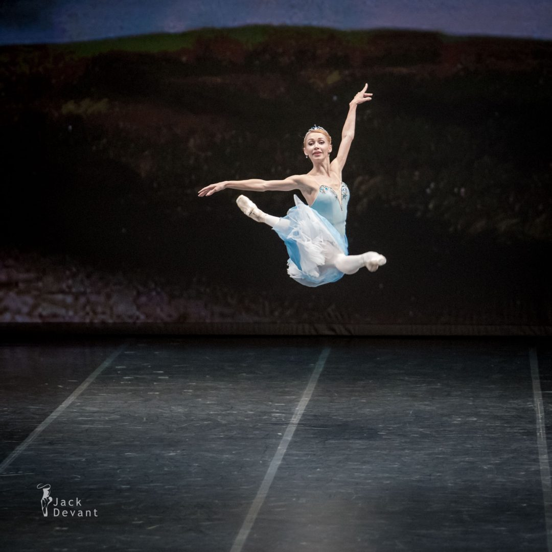 Iana Salenko grand jete in The Talisman 3