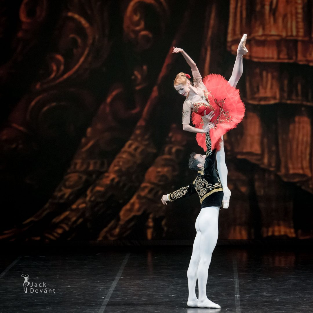 Iana Salenko and Alexander Stoyanov in Don Quixote