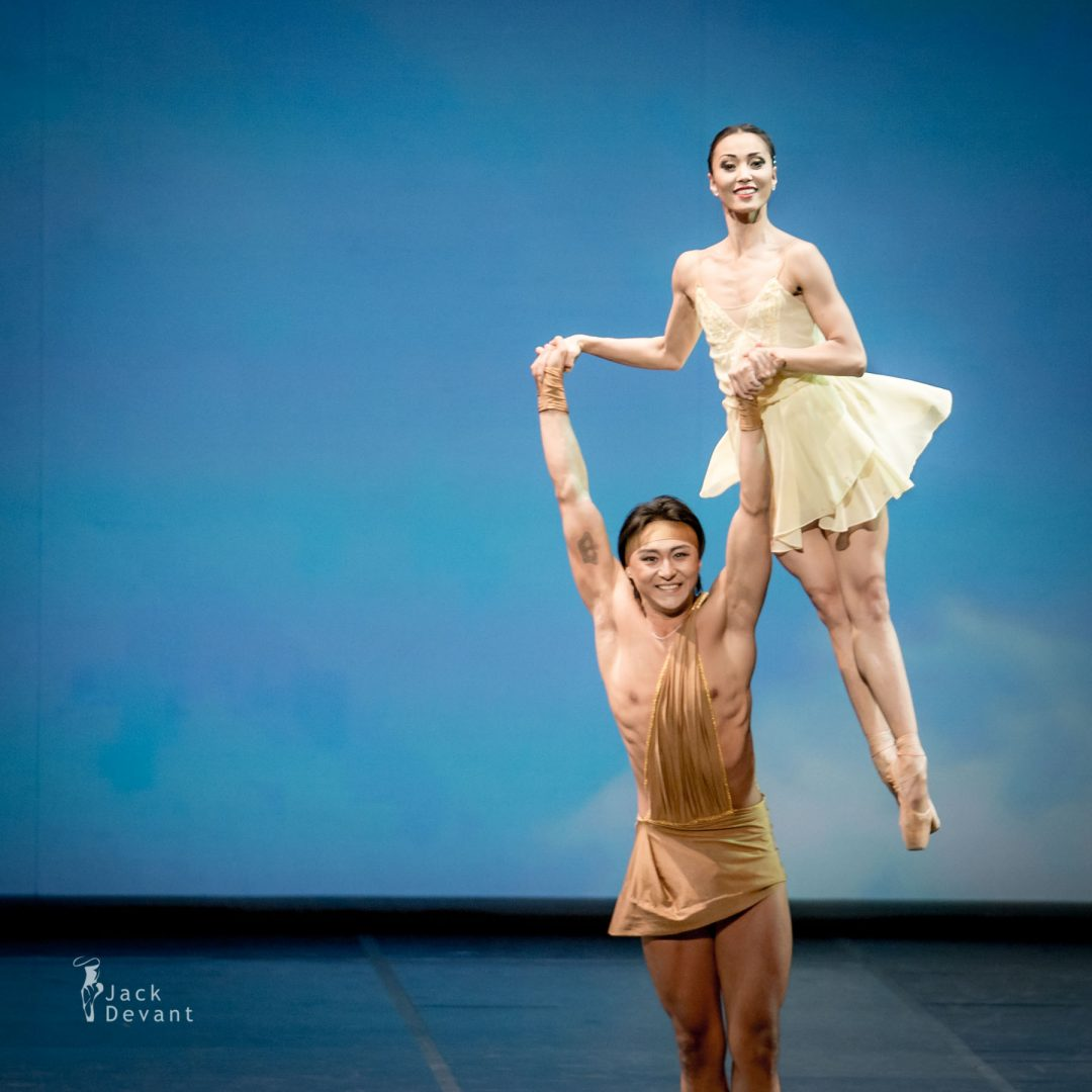 Madina Basbaeva and Arman Urazov in the Spring Waters