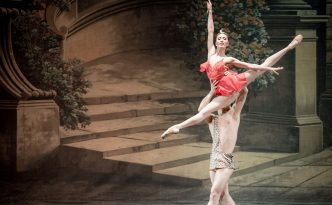 Madina Basbaeva and Bakhtiyar Adamzhan in Diana and Actaeon, Esmeralda