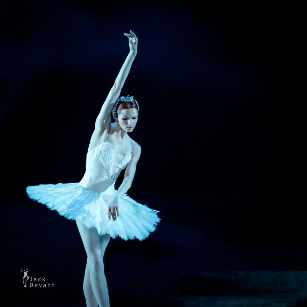 Alena Shkatula as Odile/Odette Denis Klimuk as Prince Siegfried Swan Lake