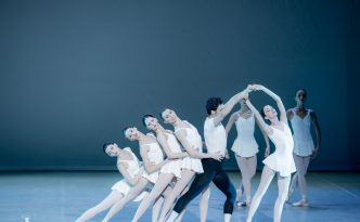 Concerto Barocco by State Ballet of Georgia, George Balanchine