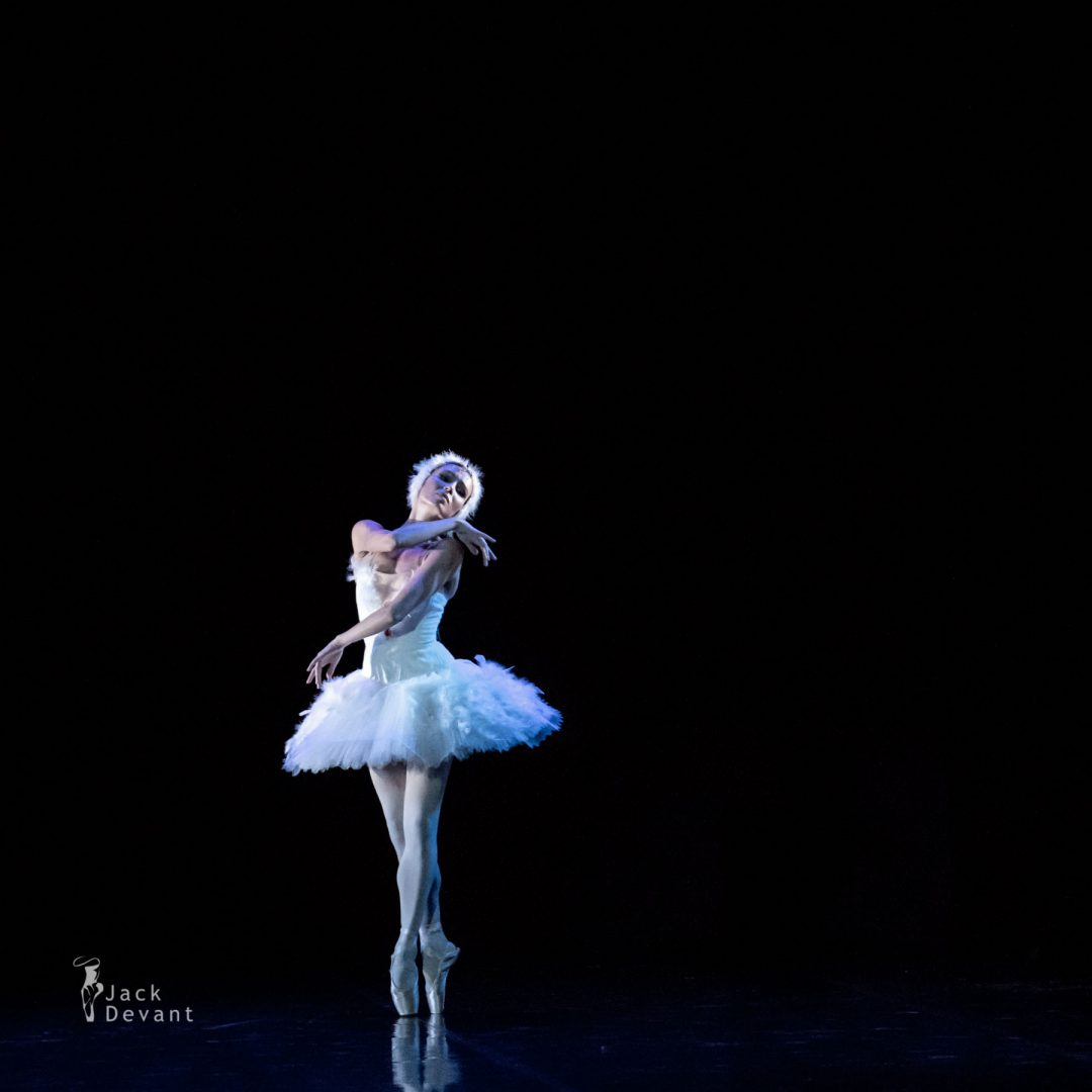 Olga Malinovskaya in the Dying Swan