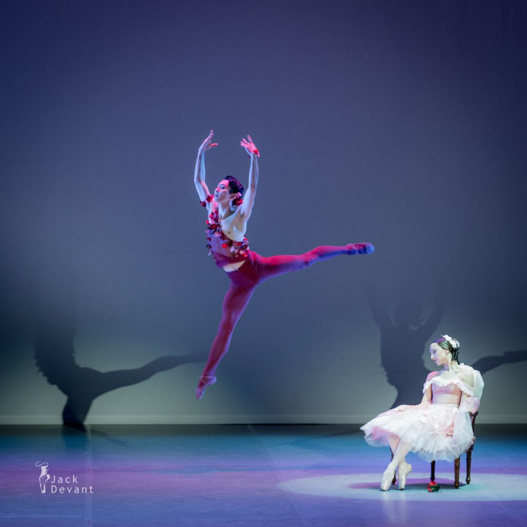 Mariam Eloshvili and Yonen Takano in Le Spectre de la Rose
