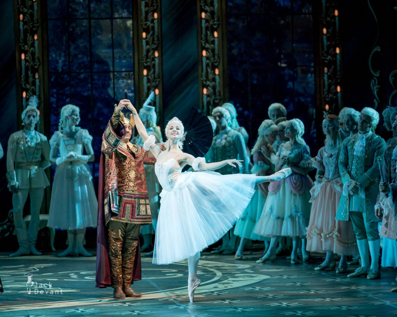 Angelina Vorontsova (Анжелина Воронцова) as Cinderella and foreign prince Mikhailovsky Theatre