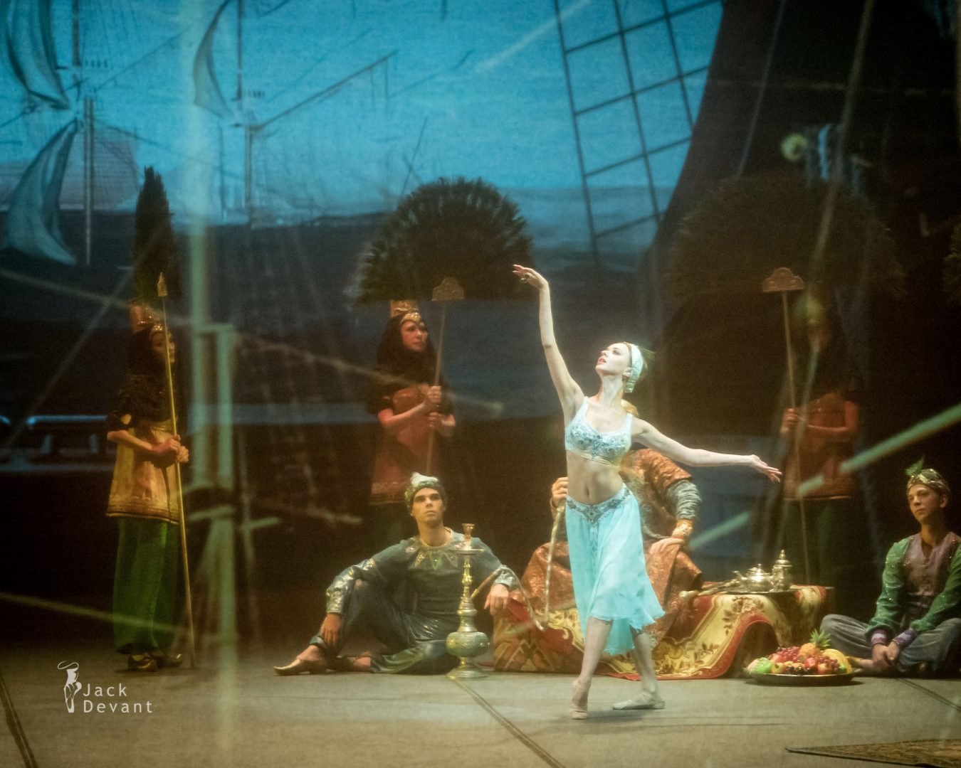 Anna Sharovieva (Анна Шаровьева) in the Oriental Dance Mikhailovsky Theatre 2