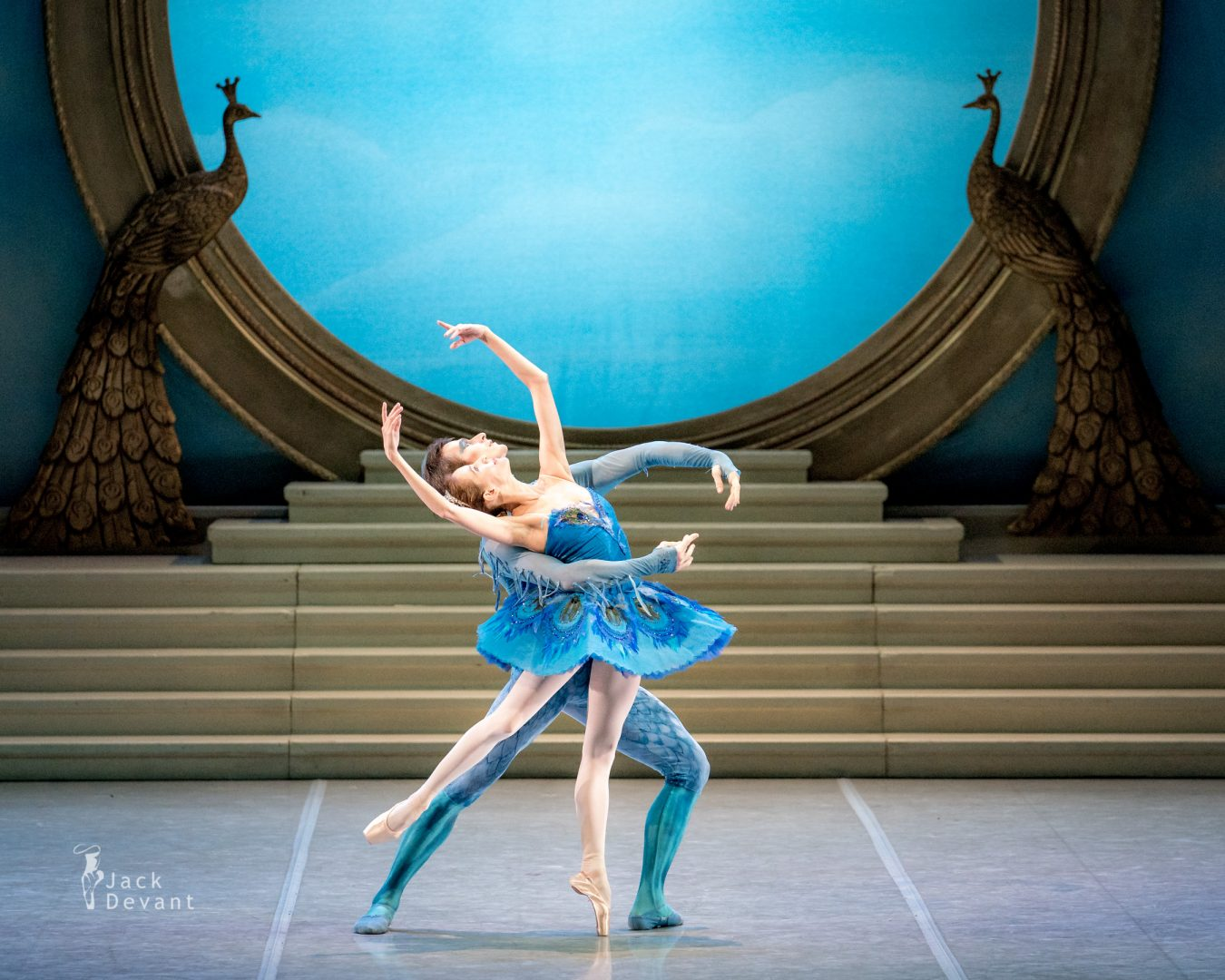 The Sleeping Beauty Sabina Yapparova as Enchanted Princess, Ivan Zaytsev as The Bluebird