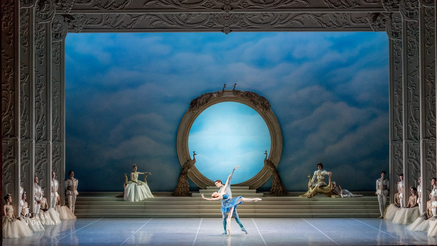 The Sleeping Beauty Sabina Yapparova as Enchanted Princess, Ivan Zaytsev as The Bluebird 2