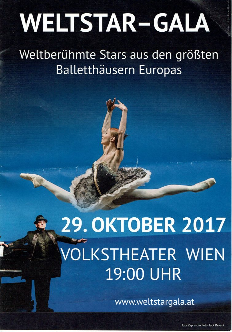 29.10.2017 Weltstar Gala, Vienna, program