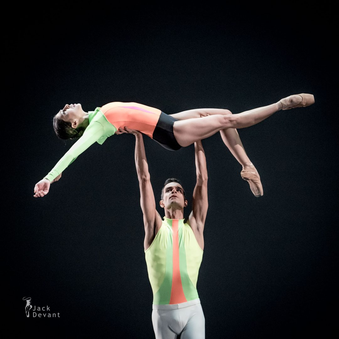 Suzanna Kaic and Vito Mazzeo in the Summer Pas de deux from the ballet Overture